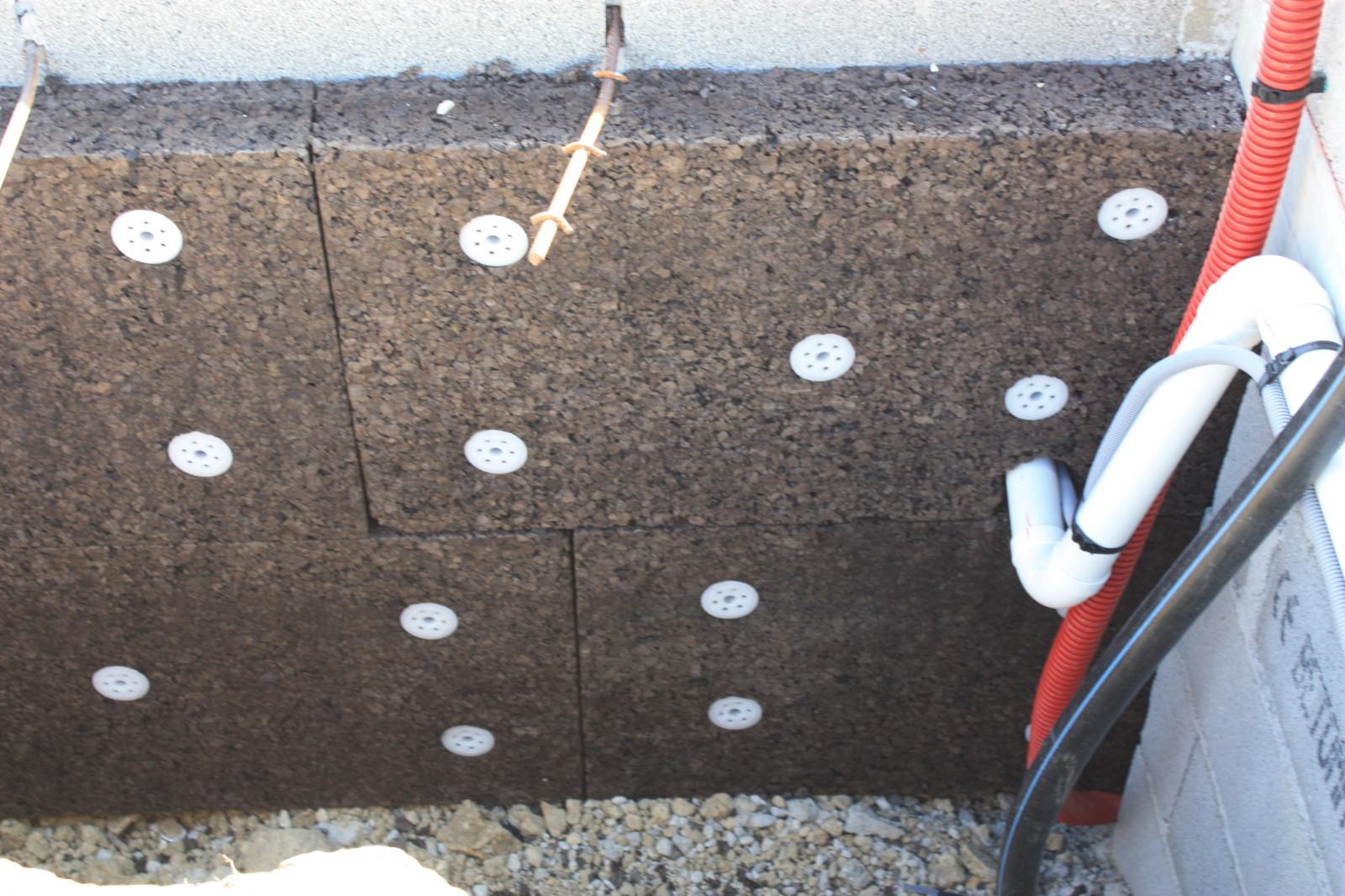 ITE - Isolation extérieure - panneaux de liège