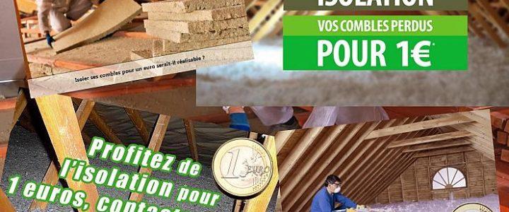 Isolation pour 1 euro, attention aux fraudes