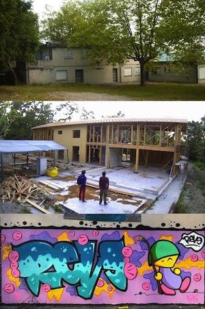 chantier participatif - les Tisserins - habitat groupé dans le Trièves 38930